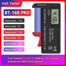 Zkoušečka tester baterií BT-168 PRO