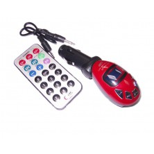 Fm transmitter, mp3 do auta + dárek Silikonové náramkové hodinky - digitální černé zdarma