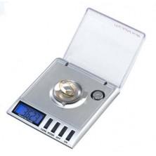 Laboratorní digitální váha s přesností 0,001g + dárek Silikonové náramkové hodinky - digitální černé zdarma