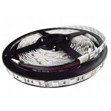 RGB LED pásek, 5m, 300 LED, tříbarevný, SMD5050 + dárek Silikonové náramkové hodinky - digitální modré zdarma