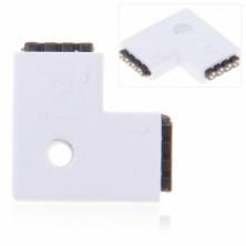 4-Pin konektor L pro LED pásek RGB SMD 5050, 3528 + dárek Silikonové náramkové hodinky - digitální modré zdarma