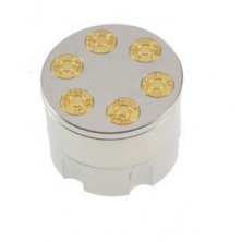 Magnetická drtička zásobník + dárek Silikonové náramkové hodinky - digitální černé zdarma