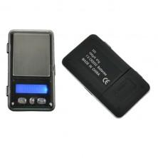 Malá digitální váha do 100g, 0.01g + dárek Silikonové náramkové hodinky - digitální fialové zdarma
