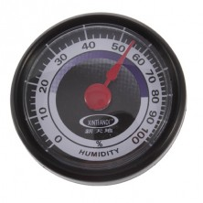 Analogový vlhkoměr, hydrometr + dárek Silikonové náramkové hodinky - digitální černé zdarma