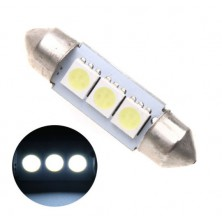 LED osvětlení SPZ sufit patice SV8,5-8, 39mm